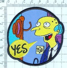 """The """"Smithers I'm home"""" Patch!"""
