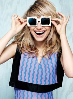 Being who yuou are and enjoying it! imogen poots 2014 3 Imogen Poots Covers Flare, Calls Courtney Love Her Fashion Icon