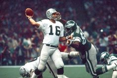 Super Bow XV | January 25, 1981 – The Oakland Raiders won their second Super Bowl, beating the Philadelphia Eagles 27-10 at the Superdome. The Raiders became the first team to win the Super Bowl as a wild card team. Jim Plunkett, the Raiders' QB and a former Heisman winner won the MVP, throwing for 261 yards and three touchdowns.