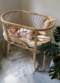 The Sunrise Bassinet is hand made showcasing a beautiful sunrise pattern encased in a solid rattan frame. Its elegant and classy appearance will suit any new nursery. Screws And Bolts, Decorative Bows, Baby Bassinet, Beautiful Sunrise, Foam Mattress, Baby Size, Rattan, Cosy, Nursery