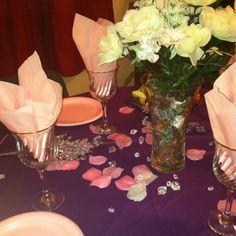 Spa party food table setup www.jolasjoyfulevnts.com