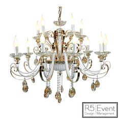 Windsor Crystal Chandelier- available for rent from Event Design! Event Company, Corporate Events, Windsor, Event Design, Wedding Decorations, Chandelier, Ceiling Lights, Crystals, Gallery