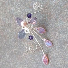 Ear Cuff Sophia's Fairy Woods by Thyme2dream on Etsy, $16.00