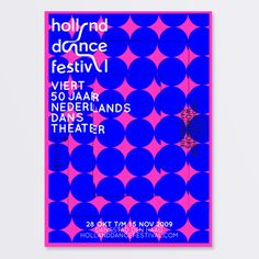Holland Dance Festival 2009 on Behance
