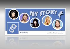 Freebies : Download Facebook My Story Timeline Cover PSD Photoshop (psd) file for free. Download : http://www.gsjha.com/facebook-my-story-timeline-cover/
