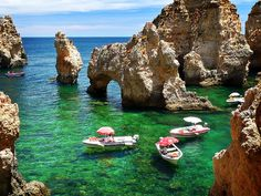 Portugal - Lagos - Caves and Grotto #travel #europe