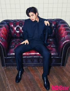 """[Cover Story] 'TEN Star' Kim Yohan """"Beginning of the end of the blank activity, I'm sure about success Mingyu, To My Future Husband, Lineup, Korea, Boyfriend, Punk, Kpop, Produce 101, Heart Eyes"""