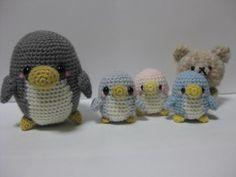 pinguinos amigurumi apgina japonesa