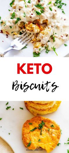 I really want to try new low carb breakfast recipes and this Keto Biscuit Reicpe looks so good! I cant wait to cook this easy meal for my family. It looks like the perfect keto biscuit. SO PINNING! Best Low Carb Recipes, Low Carb Dinner Recipes, Keto Recipes, Bread Recipes, Protein Recipes, Lunch Recipes, Healthy Recipes, Low Carb Breakfast, Healthy Breakfast Recipes