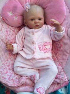 Reborn Baby Girl Ellenie By Sabine AltenkirchLOOK.  $50.00 PRICE REDUCTION!!