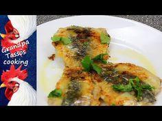 Sardines stuffed, cooked in baking paper Greek Recipes, The Creator, Chicken, Meat, Baking, Youtube, Food, Paper, Bakken