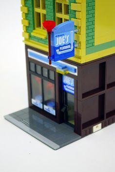 Modular LEGO Joe's Plumbing | My 21st custom modular LEGO bu… | Flickr