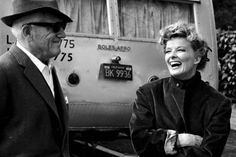 Katharine Hepburn and Spencer Tracy - a true romance.