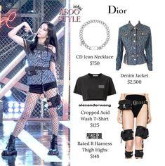 Lit Outfits, Kpop Fashion Outfits, Blackpink Fashion, Stage Outfits, Fashion Details, Korean Fashion, K Pop Idol, Looks Teen, Black Pink Kpop