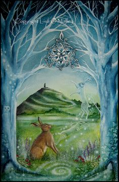 *Gateway* by Lisa O'Malley* what a beautiful vibe, may the beauty of Avalon shower its healing vibes around the world***