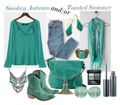 Smokey Soft Summer but fine for the Toasted Summer too, Soft Autumn Color Palette, Soft Summer Palette, Soft Autumn Deep, Warm Autumn, Teal Outfits, Redhead Fashion, Feminine Style, Capsule Wardrobe, My Style