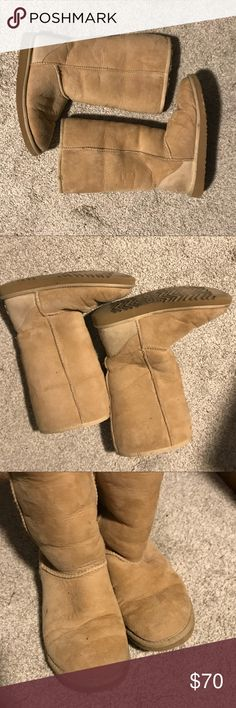 Ugg Boots Light tan ugg boots. Just don't wear them anymore UGG Shoes
