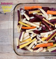 Post image for Recipe: Balsamic Roasted Roots Veggie Recipes, Real Food Recipes, Vegetarian Recipes, Cooking Recipes, Healthy Recipes, Paleo Meals, Fodmap Recipes, Clean Eating Recipes, Healthy Eating