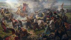 Картина художника Ю. Саніцкого «Битва під Жовтими водами»