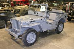 US Navy 1941 Jeep Willys MB