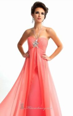 Ruched Empire Gown by Flash by Mac Duggal 64428L
