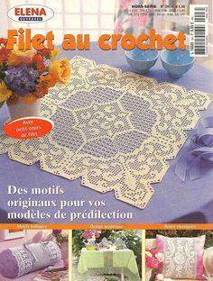 Magazyn: Elena / Ouvrages Hors-serie №03H (Filet au szydełka) - Dzianina sieciowa - ściśle współpracuje - Wydawca - życie LINE