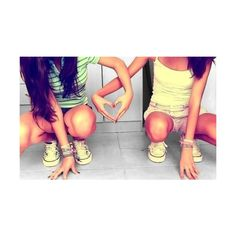 besties | Tumblr ❤ liked on Polyvore