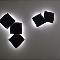 Vibia Wall Lights - Fold Superficie  2012 Light Exhibition Frankfurt Germany