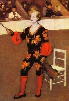 Clown Pierre-Auguste Renoir, 1868