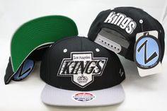 NHL Los Angels Kings zephyr Snapback Adjustable Plastic Snap back Hat / Cap Black/Gray by Zephyr. $14.99. NHL zephyr Snapback Adjustable Plastic Snap back Hat / Cap. Save 57%!