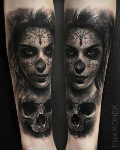 Booking now for @veneziatattooconvention next weekend ➡️eliot.kohek@gmail.com #realistic #skull #tattoo @fusion_ink @killerinktattoo @hustlebutterdeluxe #realistictattoo #blackandgrey #ink