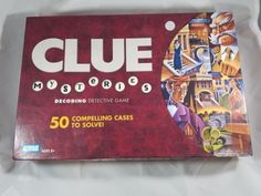 2005 Parker Brothers CLUE Mysteries Decoding Detective Board Game
