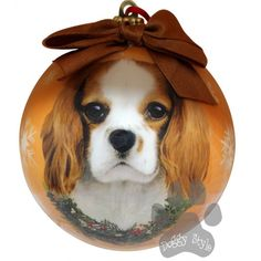 Cavalier King Charles Spaniel Shatterproof Dog Christmas Ornament http://doggystylegifts.com/products/cavalier-king-charles-spaniel-shatterproof-dog-christmas-ornament