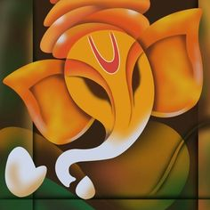 Art Factory Ganesha Canvas Painting