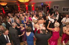 Wedding Reception Dance Floor Packed with Friends & Family Moving to the John Parker Wedding Band // jpband.com