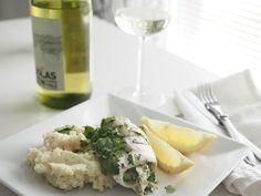 Makuja kotoa: Kuharullat valkoviinissä ja kukkakaalimuusi Risotto, Potato Salad, Potatoes, Ethnic Recipes, Potato