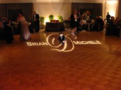 Another personalized gobo, cute