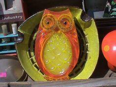 Retro Owl Spoon Rest by RetroRevolutions on Etsy, $14.95
