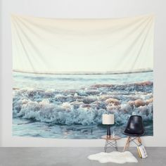 Pacific Ocean Wall Tapestry by Leah Flores | Society6