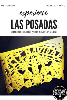 Las Posadas | Christmas in Mexico Video - Wish you could take your students on a field trip to Mexico during Las Posadas? Take them to Puebla & Mexico City and show them what Las Posadas is all about without leaving your classroom! #lasposadas #spanishchristmasvideo #videodenavidad #culturalvideo