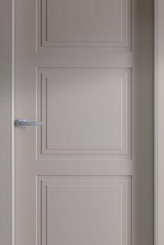 The collection of pantographed doors, one of the most loved in range. Interior Door Styles, Door Design Interior, Interior Styling, Door Molding, Moldings And Trim, All About Doors, Attic Bedroom Designs, Double Door Design, Internal Wooden Doors