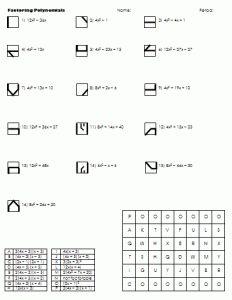Divide Polynomials Worksheet 2 Algebra Pinterest Algebra Math