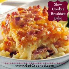 Slow Cooker Breakfast Bake
