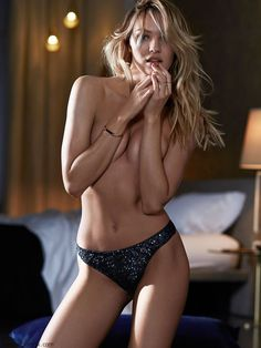 FabFashionFix - Fabulous Fashion Fix | Candice Swanepoel looks smouldering for Victoria's Secret lingerie (September 2014)