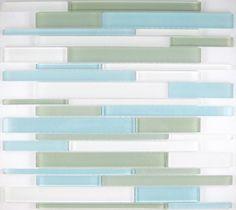 Origami  lagoon medley  light blue, green, white