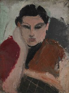 Arshile Gorky, Portrait of a Woman, 1928
