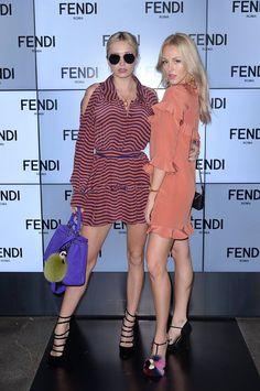 O que acharam da blogueira Shea Marie e da cantora Caroline Vreeland? Pernas de…
