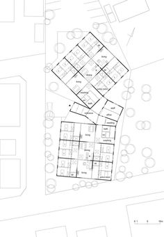 Built by Sou Fujimoto in , Japan with date 2006. Images by Daici Ano. The group home for the elderly people with dementia built in the residential section in Noboribetsu City, Hokkaido, J...