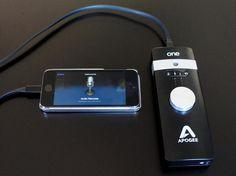 Apogee One, an iOS mobile #concert recorder