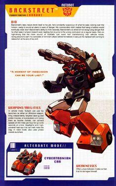 Transformer of the Day: Backstreet